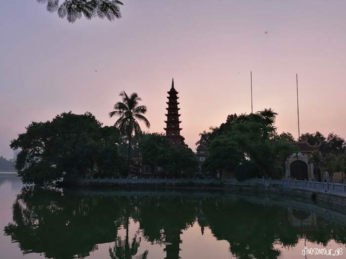 Tran Quoc Pagode in Hanoi