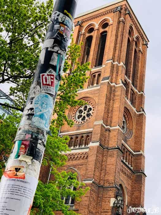 Kirchturm der Ruine St. Pauli im Hechtviertel
