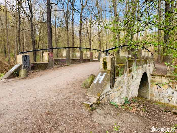 Steinbrücke über die Prießnitz