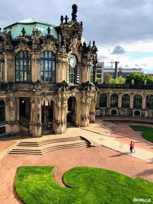 Glockenspielpavillon im Dresdner Zwinger
