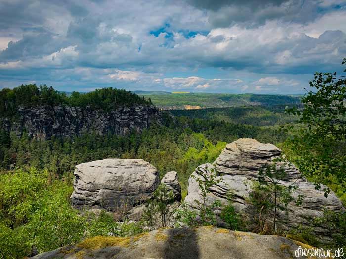 Ausblick auf Großen Bärenstein