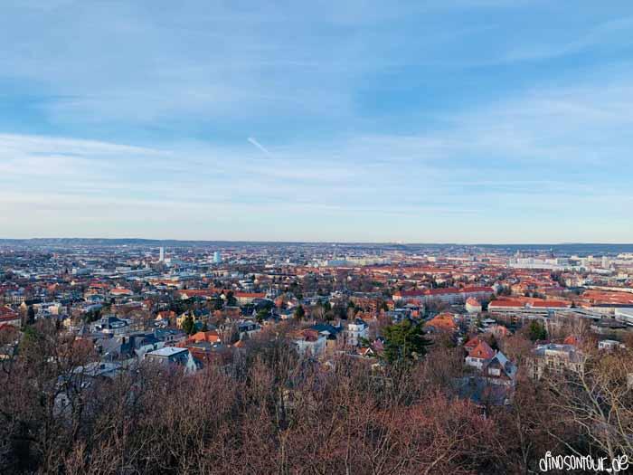Ausblick Fichteturm in Plauen