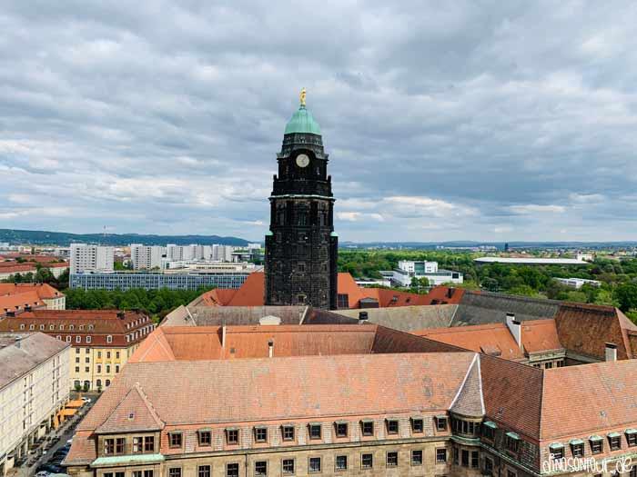 Rathausturm in Dresden