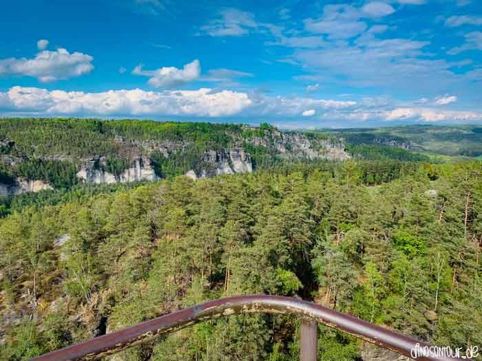 Ausblick Steinbrüche und Bastei