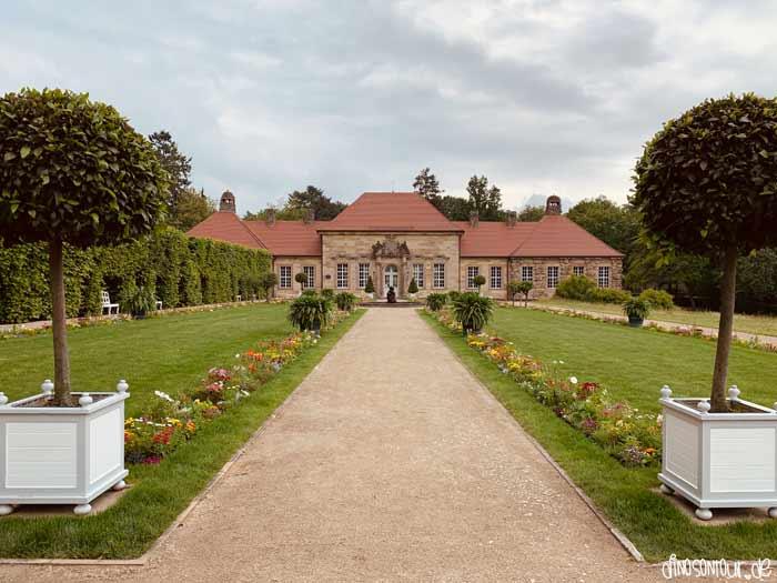 Altes Schloss in der Eremitage Bayreuth