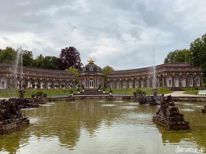 Neues Schloss in der Eremitage Bayreuth