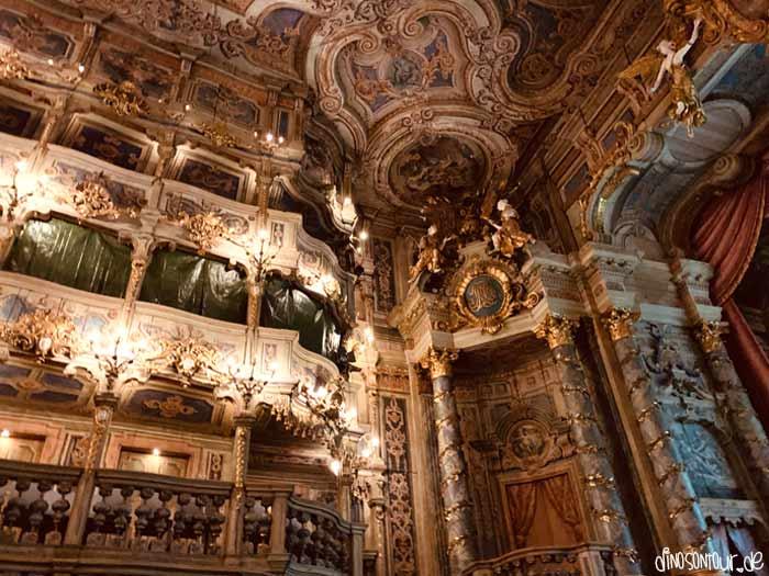 Verzierungen im Markgräflichen Opernhaus Bayreuth