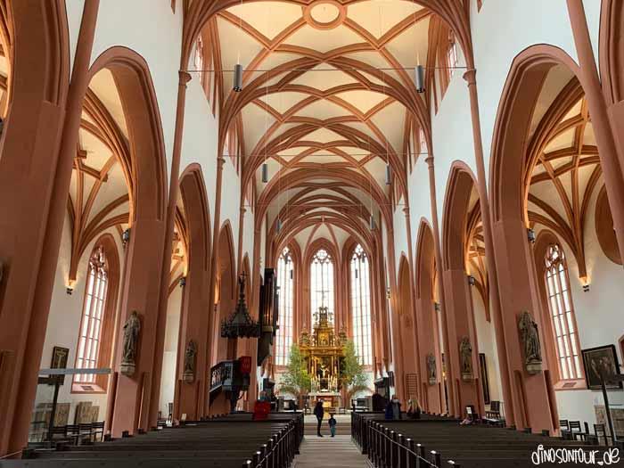 Stadtkirche in Bayreuth von innen