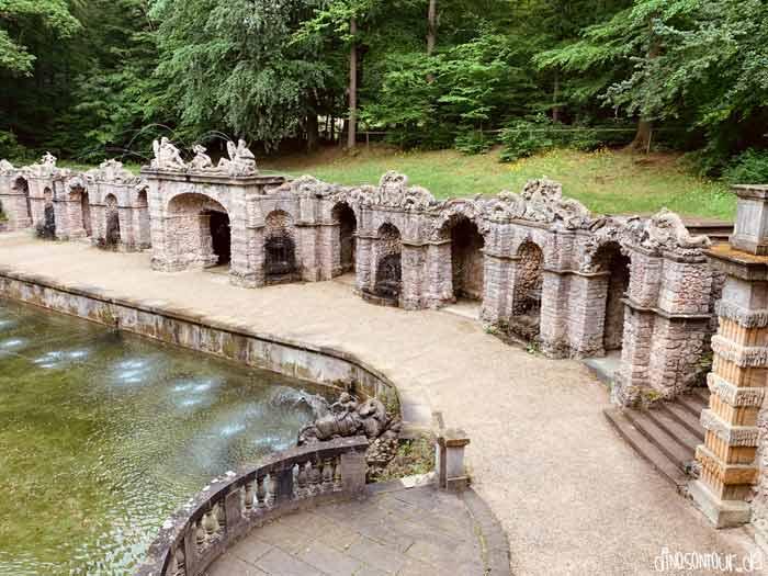 Untere Grotte Eremitage Bayreuth