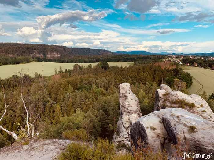 Aussicht Gamrig Panorama