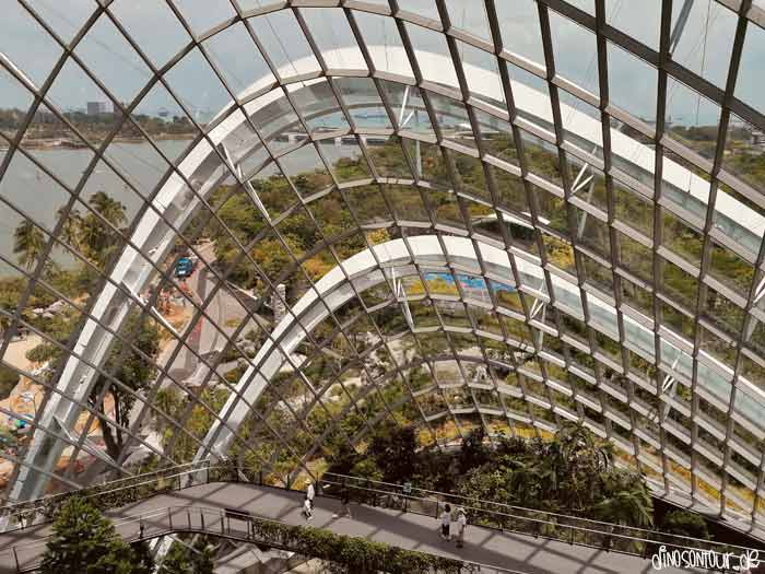 Ausblick Cloud Forest Gardens by the Bay