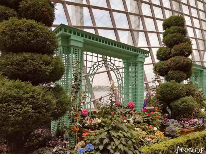 Asiatischer Pavillon Flower Dome Gardens by the Bay