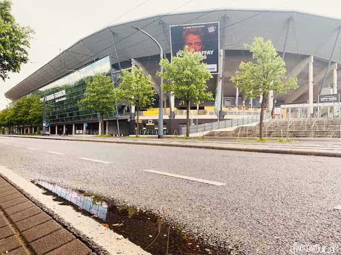 Rudolf Harbig Stadion an der Lennéstraße