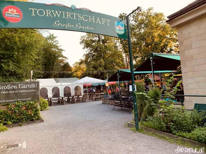 Torwirtschaft Biergarten im Großen Garten