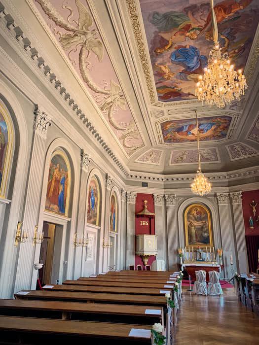 Kapelle im Neuen Palais in Schloss Pillnitz