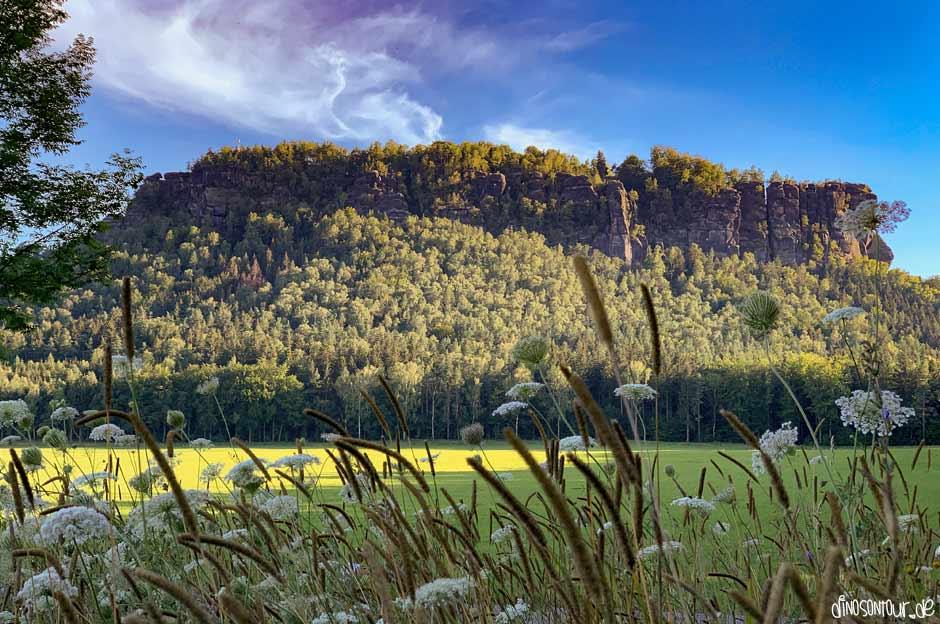Lilienstein Tafelberg Sächsische Schweiz