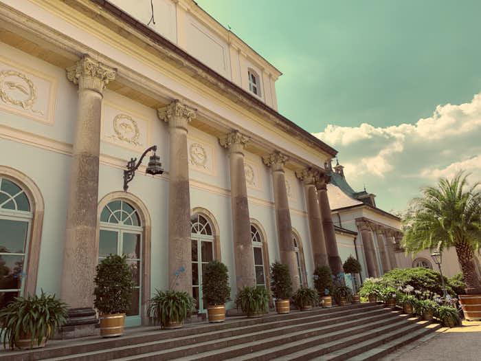 Neues Palais in Schloss Pillnitz