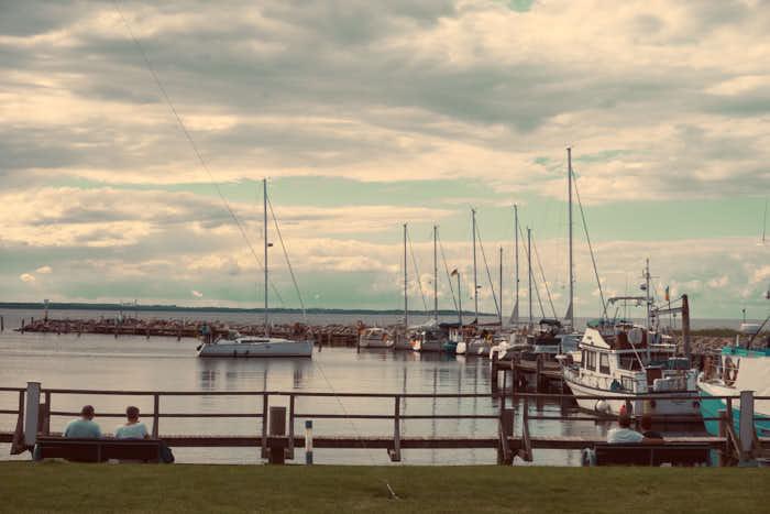 Hafen Timmendorf auf der Insel Poel