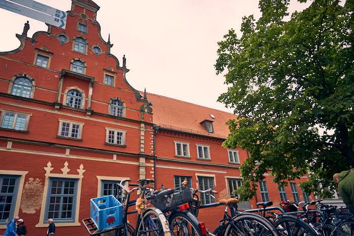 Schabbelhaus mit Museum aussen