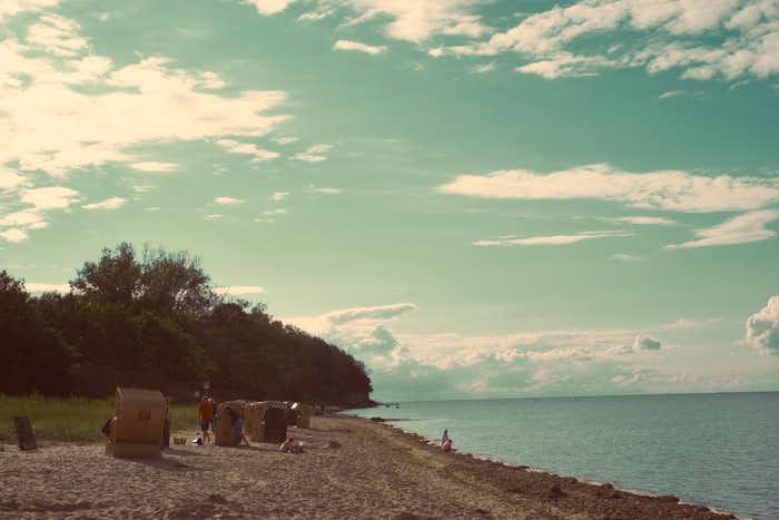 Strand Gollwitz Insel Poel