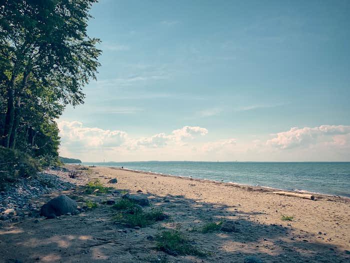 Strand an der Ostseeküste