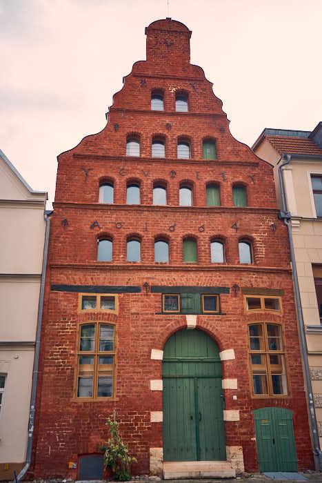 Wismar Sehenswürdigkeiten Impression Haus