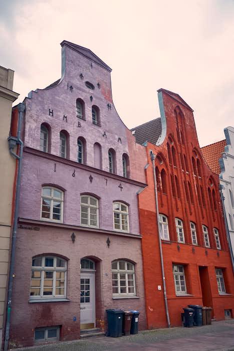 Historisches Gebäude Hansestadt