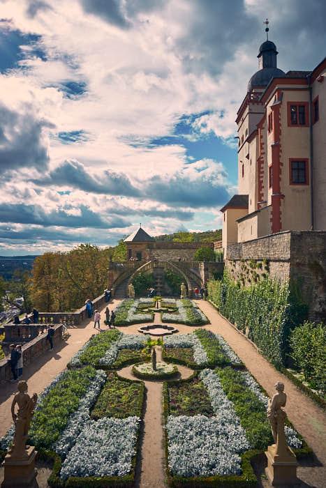 Fürstengarten Festung Marienberg