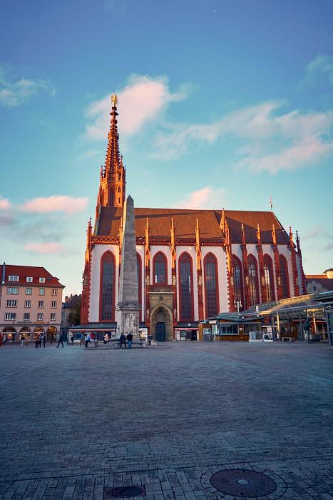 Marienkapelle auf dem Marktplatz Würzburg
