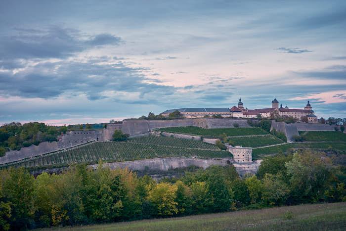 Panoramaansicht von der Festung Marienberg