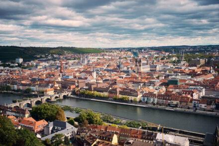 Würzburg Sehenswürdigkeiten Blick auf Altstadt