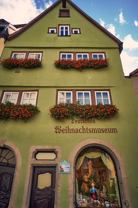 Deutsches Weihnachtsmuseum in der Herrngasse