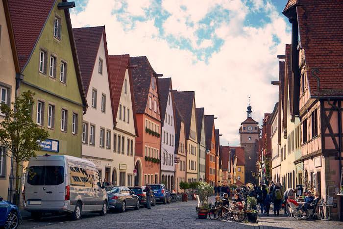 Galgengasse in Rothenburg ob der Tauber