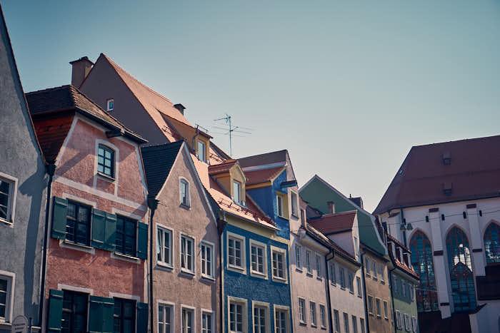 Landsberg niedliche Häuser