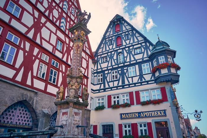 Marien Apotheke am Marktplatz Rothenburg
