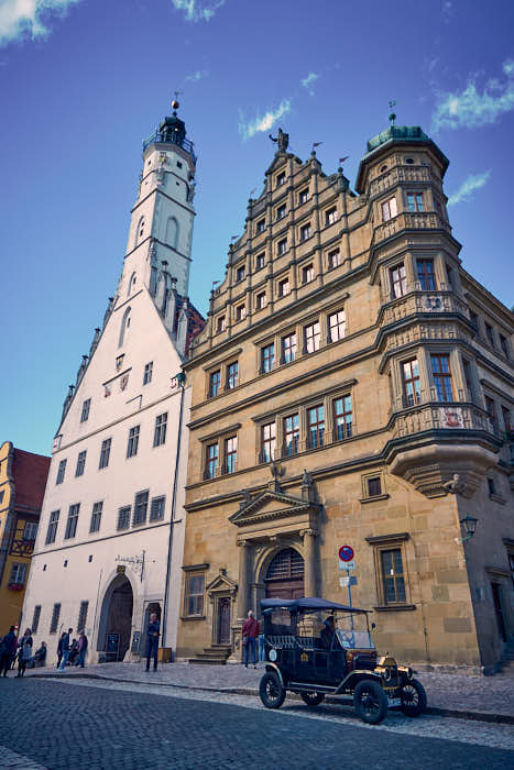 Rathausturm Rothenburg ob der Tauber