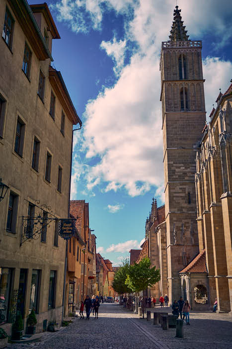 Kirchturm Rothenburg ob der Tauber