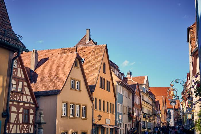 Schmiedgasse in Rothenburg