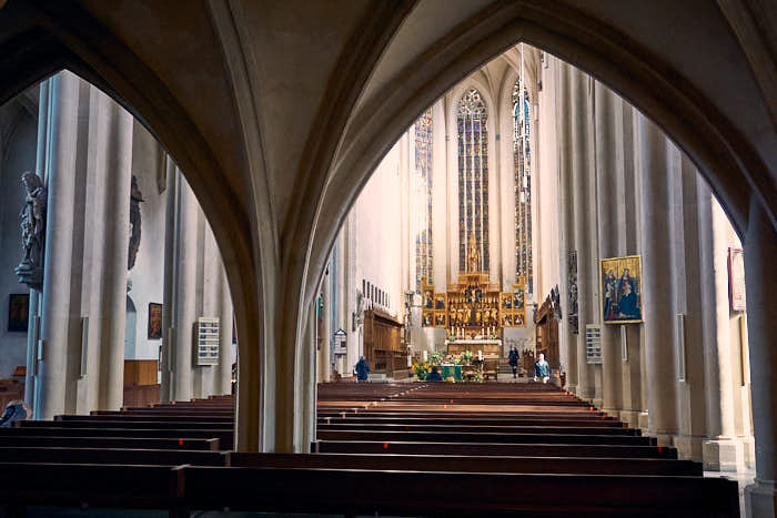 St. Jakobs Kirche Rothenburg innen