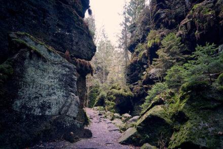 Uttewalder Grund Wanderung