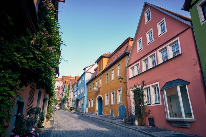 Wenggasse Rothenburg ob der Tauber