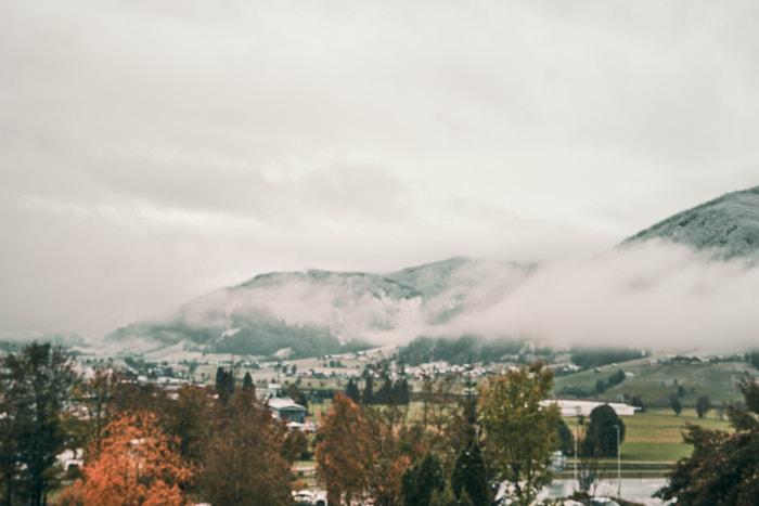 Altenmarkt im Pongau nebelverhangen