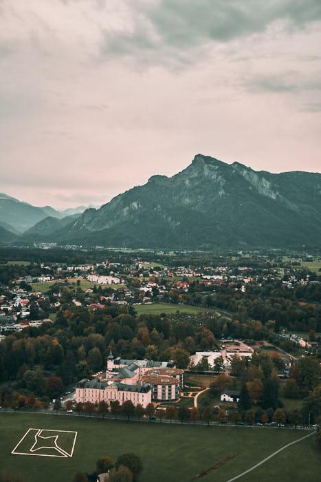 Aussicht Festung Hohensalzburg