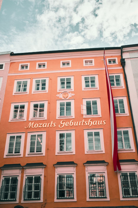 Mozart Geburtshaus Getreidegasse