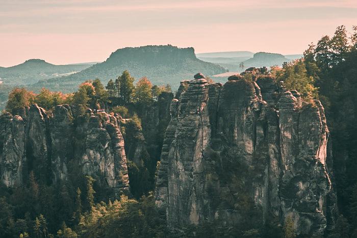 Pavillonaussicht Bastei Sächsische Schweiz