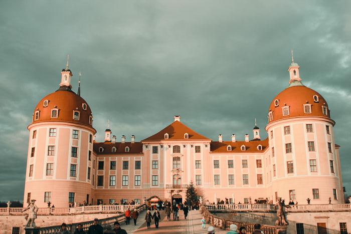 Schloss Moritzburg Aufgang