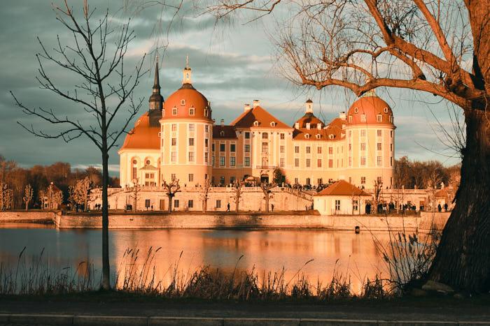 Schloss Moritzburg Panoramaansicht
