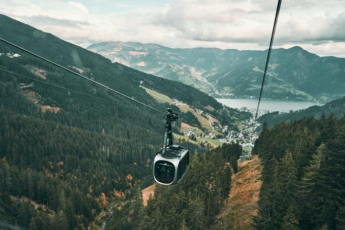 Schmittenhöhe Seilbahn Blick Zell am See