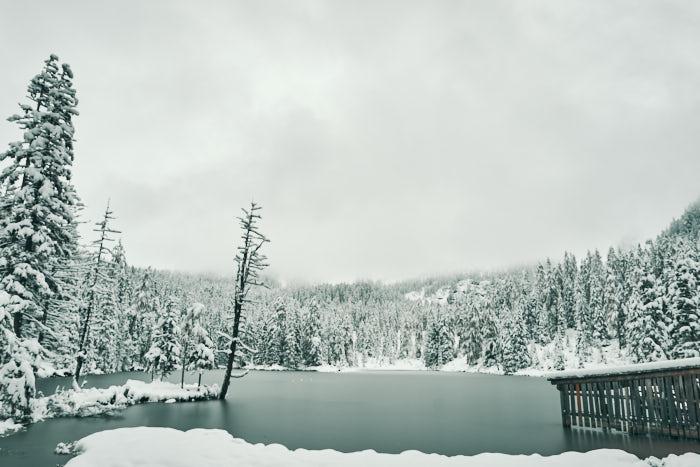 Tauernkarsee Winter