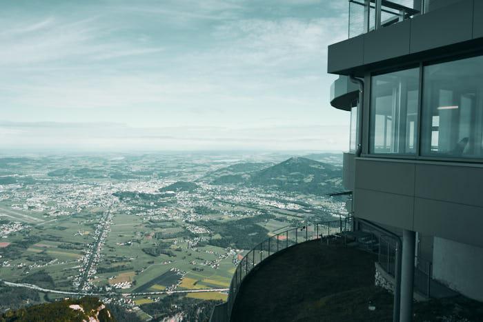 Untersberg Blick Salzburg
